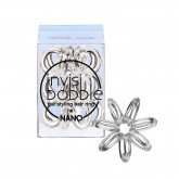Invisibobble Nano Hair Rings 3pk - Crystal Clear