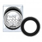 Invisibobble Slim Hair Rings 3pk - True Black