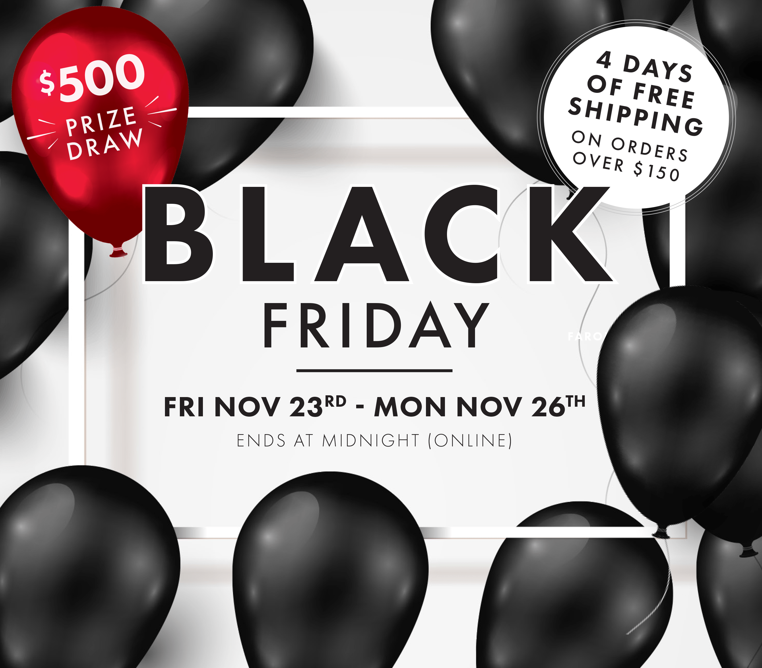 Black Friday 2018 RSVP