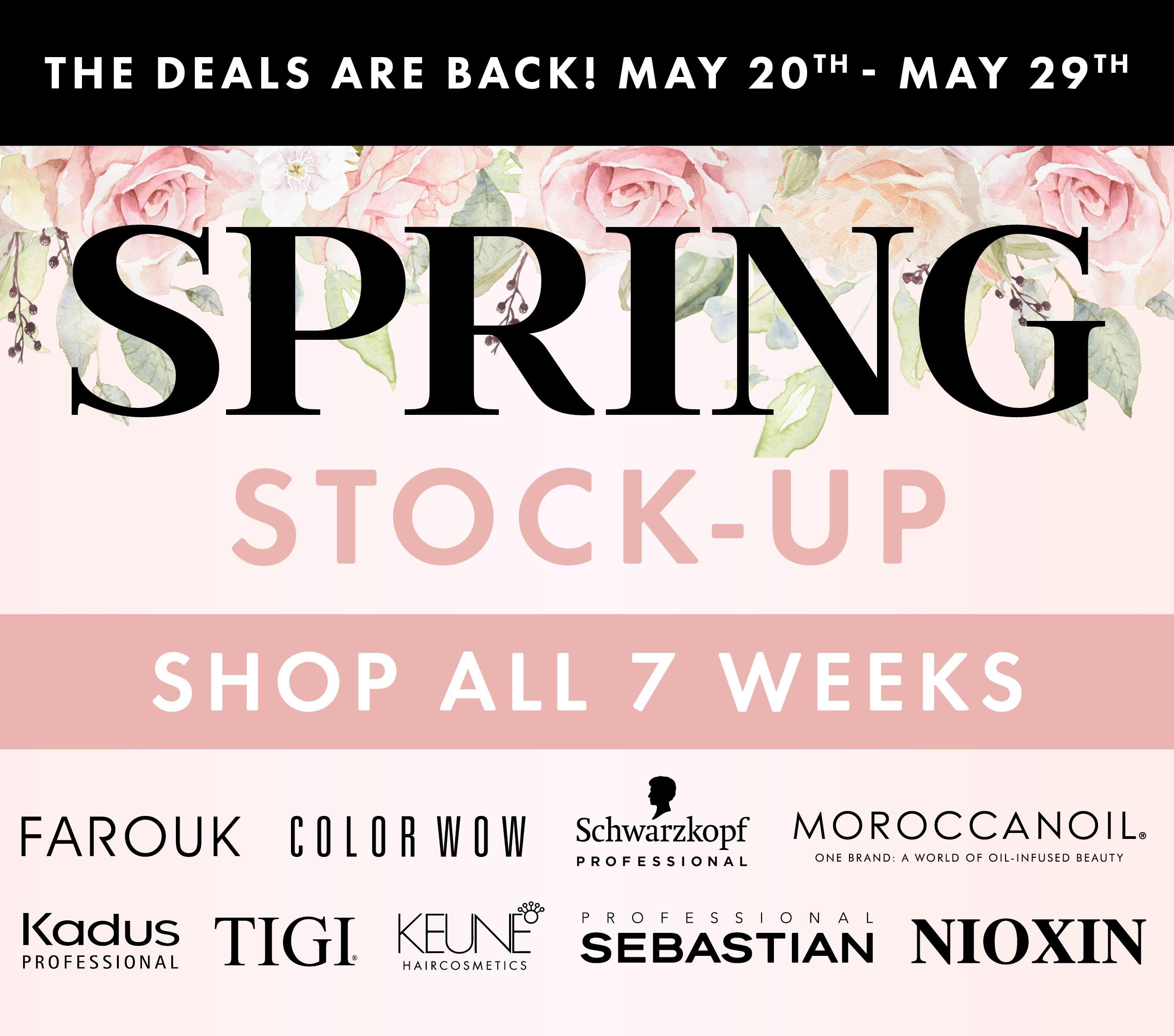 Spring Stock Up LAST 10 DAYS V2